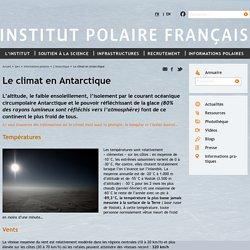 Le climat en Antarctique