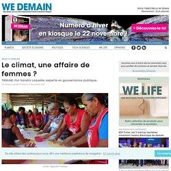 Le climat, une affaire de femmes ?