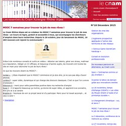 Le Cnam Rhône-Alpes Infos