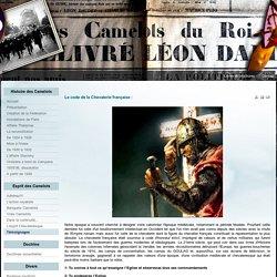 Le code de la Chevalerie française :