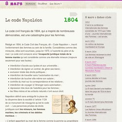 Le code Napoléon