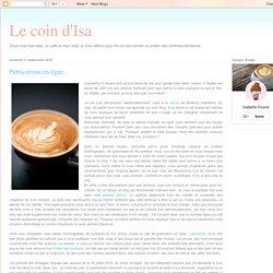Publications en ligne.