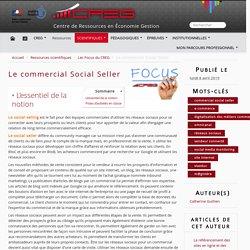 Le commercial Social Seller