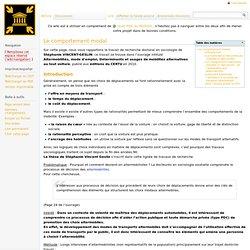 Le comportement modal - PDC - wiki