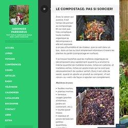 Le compostage: pas si sorcier!