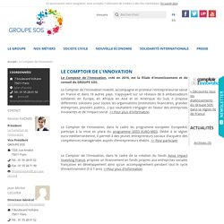Le Comptoir de l'Innovation ( )