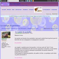 Forum d'entraide avicole - Le confort du poulailler
