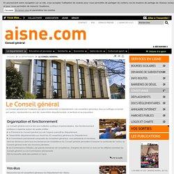 Le Conseil général - Aisne