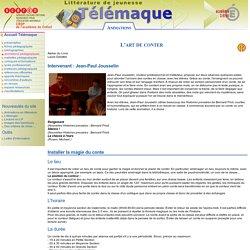 Le conte - Animation pédagogique thèmes développés