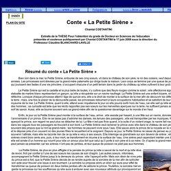 Le Conte « La Petite Sirène »