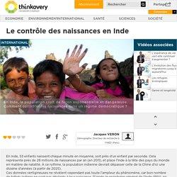 Le contrôle des naissances en Inde