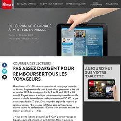 Le courrier des lecteurs - La Presse+