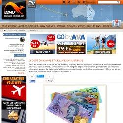 Le coût du voyage et de la vie en Australie