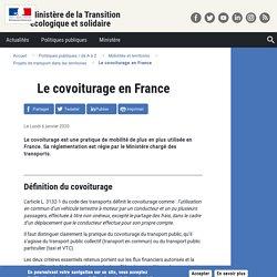 Le covoiturage en France
