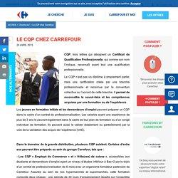 Le CQP chez Carrefour