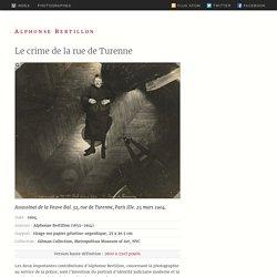 Le crime de la rue de Turenne