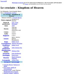 Le crociate - Kingdom of Heaven