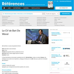 Le CV - Reference.be
