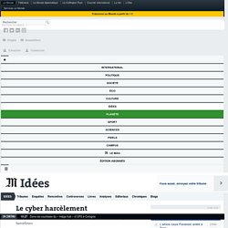 Pearltree tiers 1 : Le cyber harcèlement est un délit !