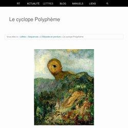 Le cyclope (L'Odyssée)