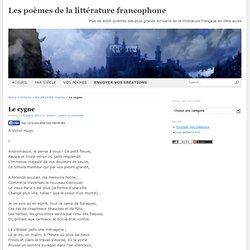 Les poèmes de la littérature francophone