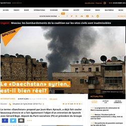 Le «Daechstan» syrien, est-il bien réel?