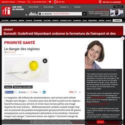 RFI 13/05/15 PRIORITE SANTE - Le danger des régimes.