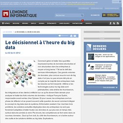 Le décisionnel à l'heure du big data -