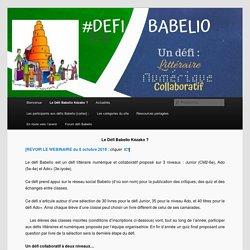 Le Défi Babelio Kézako ?