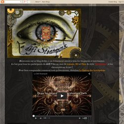 Le défi Steampunk: Bibliothèque Steampunk