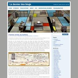 Le dernier blog