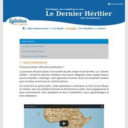 Le Dernier Héritier