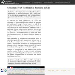 Le domaine public - Calculateur du Domaine Public