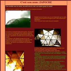 Le dome Zapoche