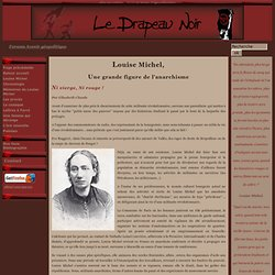 Le Drapeau Noir - Louise Michel