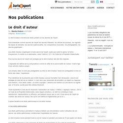 Le droit d'auteur - Avocat Lille