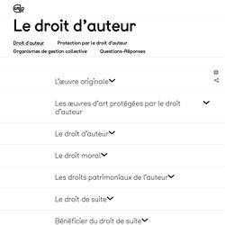 [FR] Le droit d'auteur