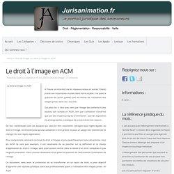 Le droit à l'image en ACM