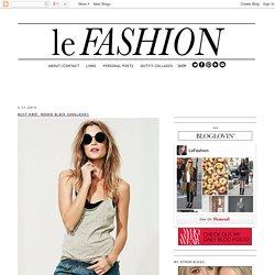 Le Fashion: March 2014