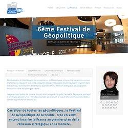Festival de géopolitique et de géoéconomie : programme