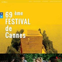 Le Festival de Cannes 2016