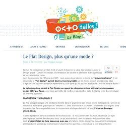 Le Flat Design, plus qu'une mode ?