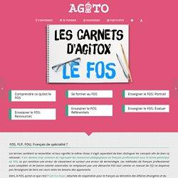 Les carnets d'Agitox - Dossier FOS