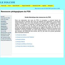 le FOS: ressources