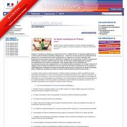 Le fossé numérique en France
