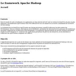 Le framework Apache Hadoop