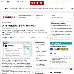 Le PS se frotte à l'Iriposte de l'UMP