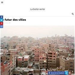 Le futur des villes
