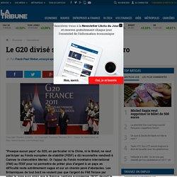 Le G20 divisé sur l'aide à la zone euro Cannes Sarkozy Merkel Rousseff Chine Lagarde FMI BCE FESF dette Italie