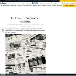 """Le Gorafi : """"infaux"""" en continu"""